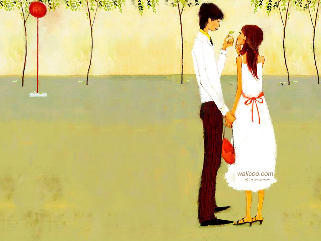 Love couple Art Wallpaper : ???? --- ???????? - christian Asuh - ?????7