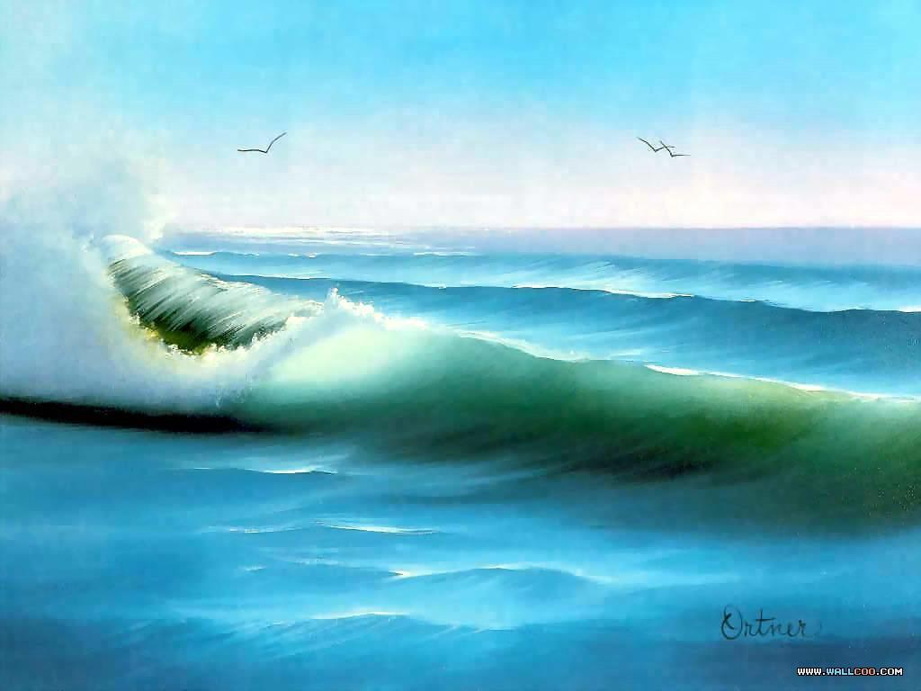 Pinturas al Oleo, Imagenes de Bob Ross