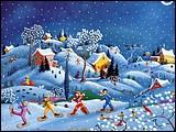 儿童節專題桌布- Catherine Simpson 繪畫作品 2 - Catherine Perdreau ~ Un Soir au Clair de Lune, De.jpg