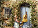 儿童節專題桌布- Catherine Simpson 繪畫作品 7 - Catherine Simpson ~ Friends Come Calling, De.jpg