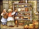 儿童節專題桌布- Catherine Simpson 繪畫作品 13 - Catherine Simpson ~ Potters Two, De.jpg